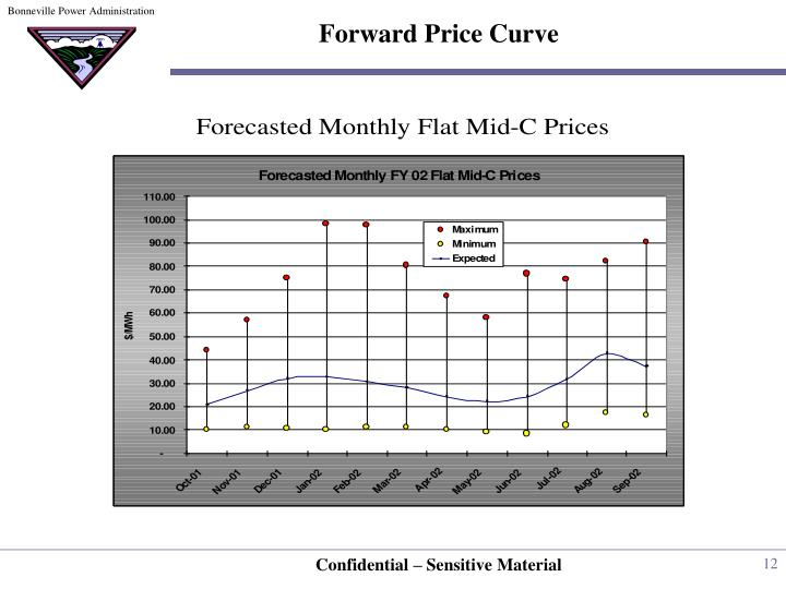 Forward Price Curve