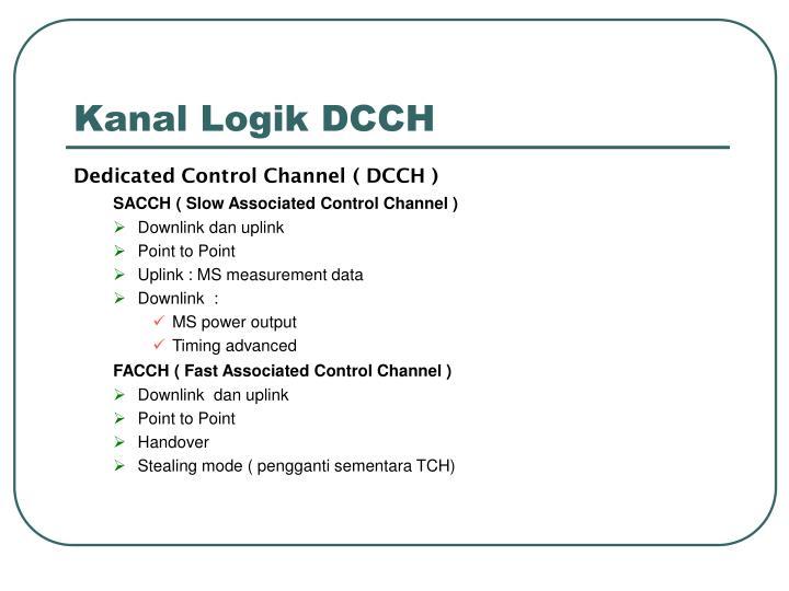Kanal Logik DCCH
