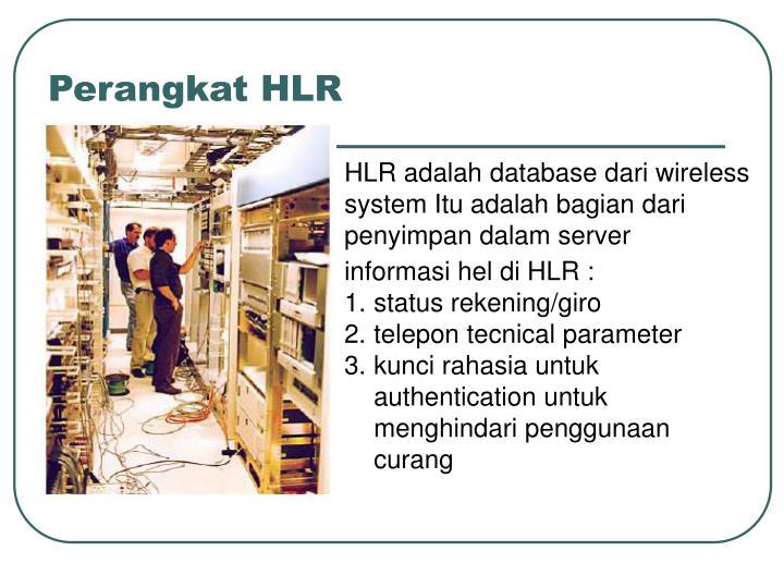 Perangkat HLR