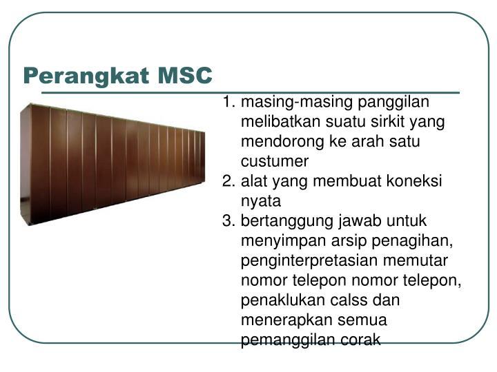 Perangkat MSC