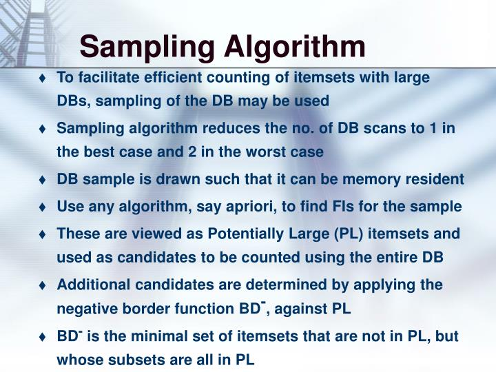 Sampling Algorithm