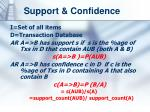 support confidence
