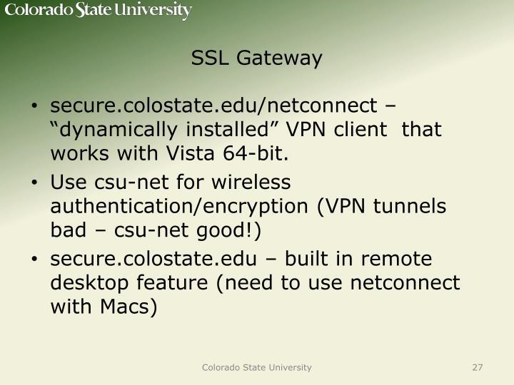 SSL Gateway