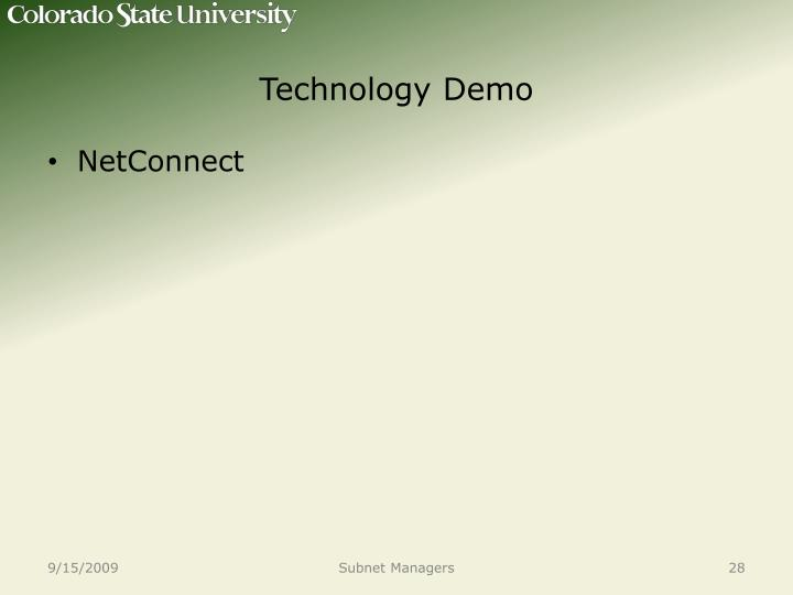 Technology Demo