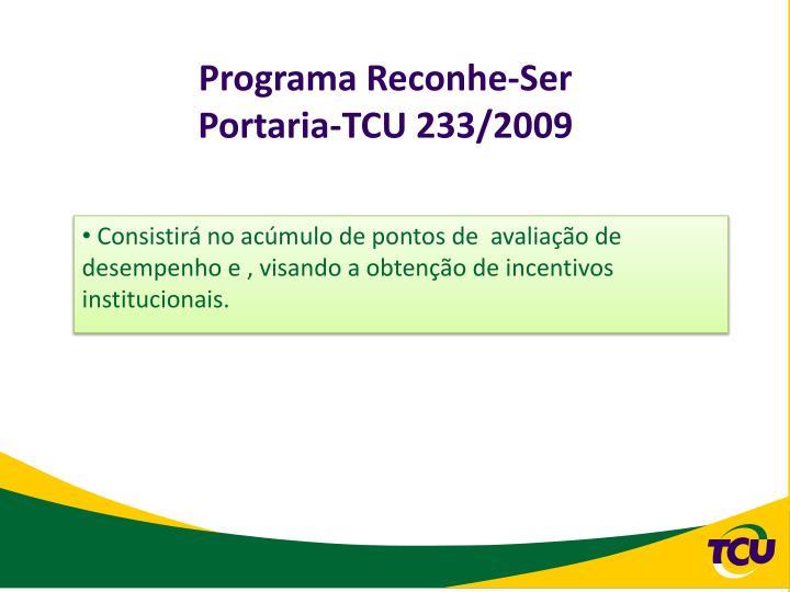 Programa Reconhe-Ser