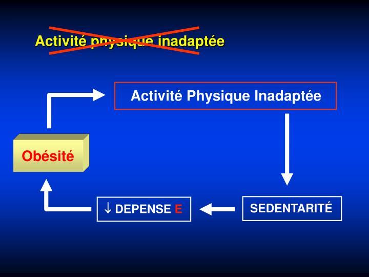 Activité Physique Inadaptée