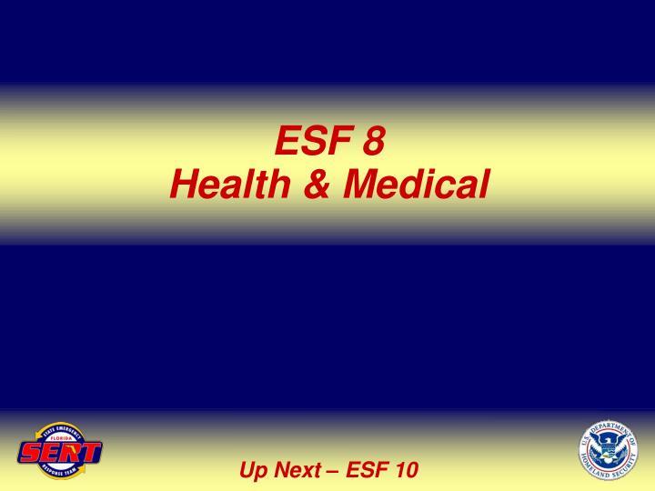 ESF 8