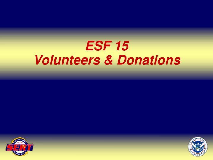 ESF 15