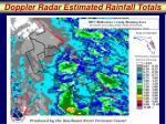 doppler radar estimated rainfall totals1