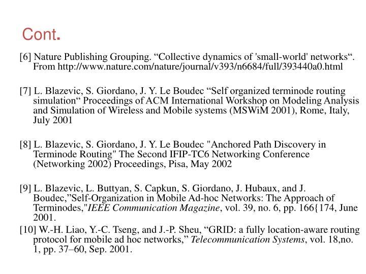 """[6] Nature Publishing Grouping. """""""
