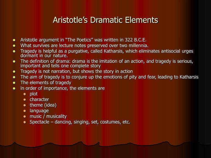 Aristotle's Definition of the Greek Tragedy
