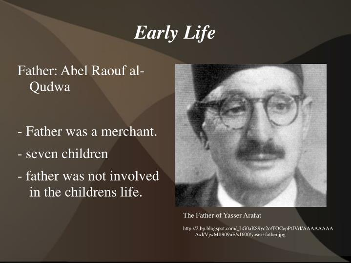 The Father of Yasser Arafat