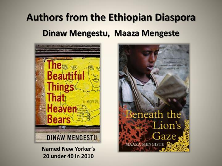 Authors from the Ethiopian Diaspora