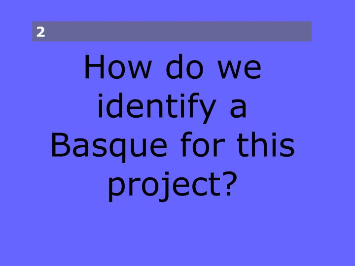 Project basques in the american press