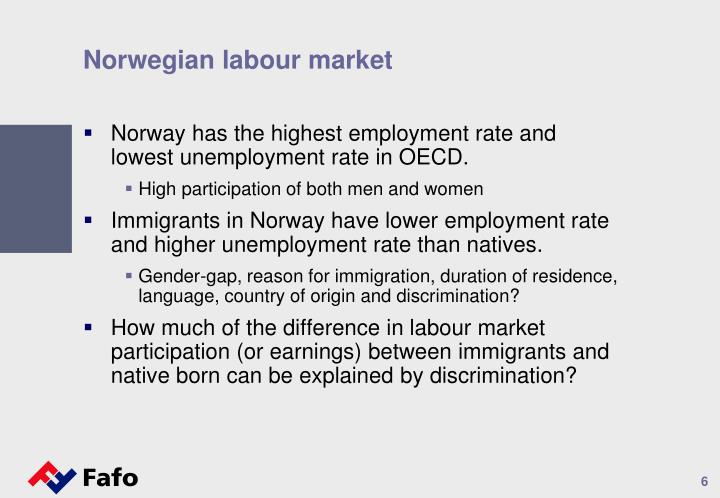 Norwegian labour market