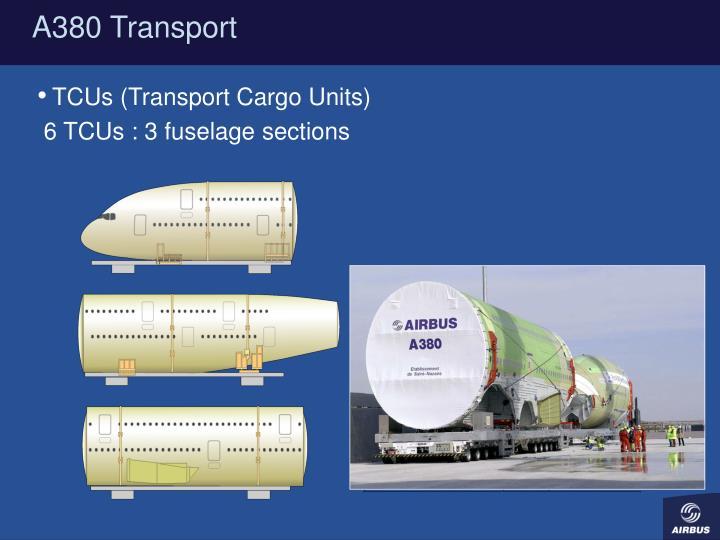 A380 Transport