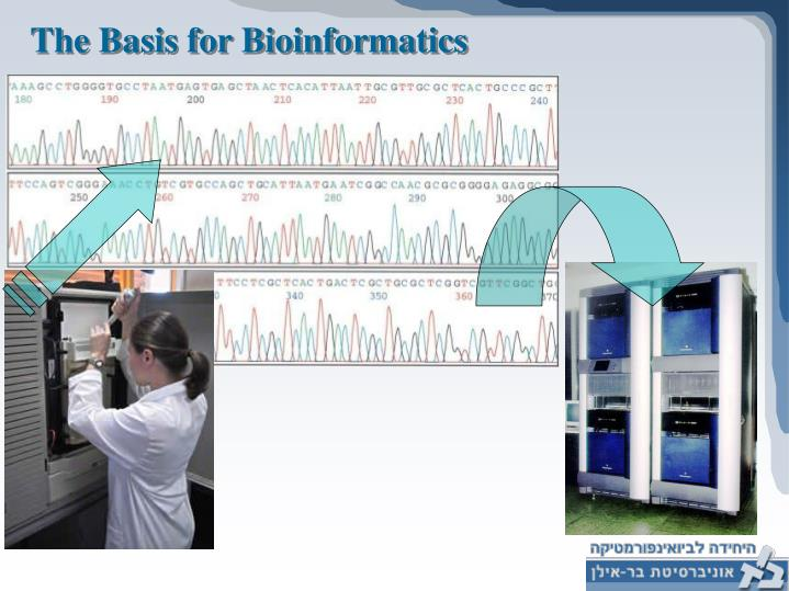 The Basis for Bioinformatics
