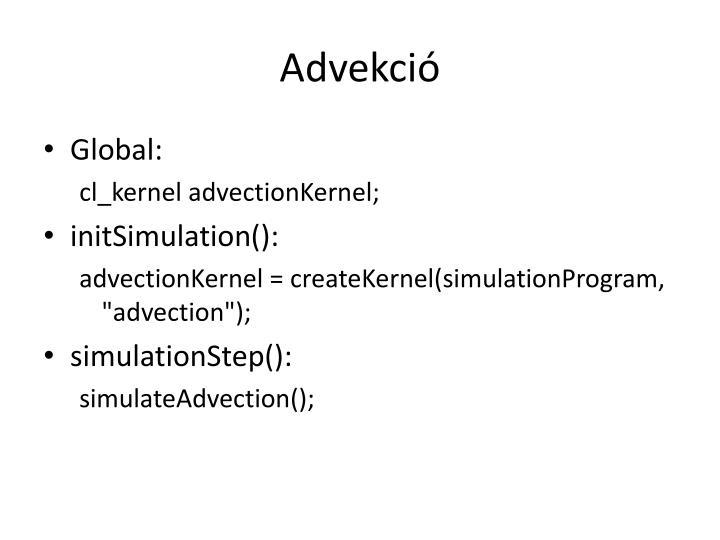 Advekció