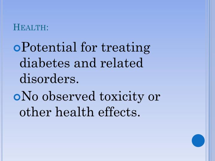 Health: