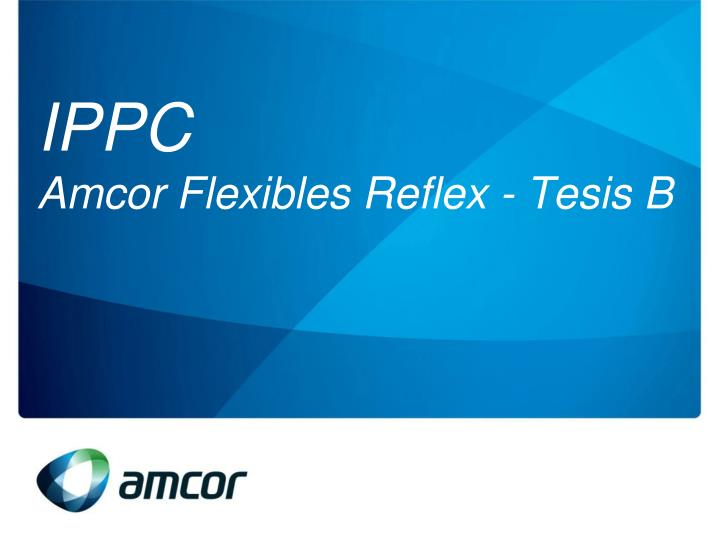 Ippc amcor flexibles reflex tesis b