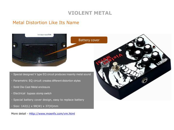 VIOLENT METAL