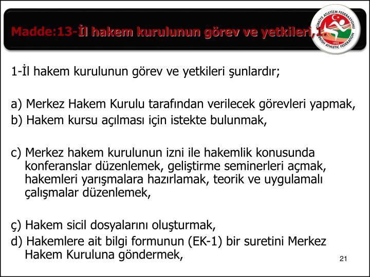 Madde:13-