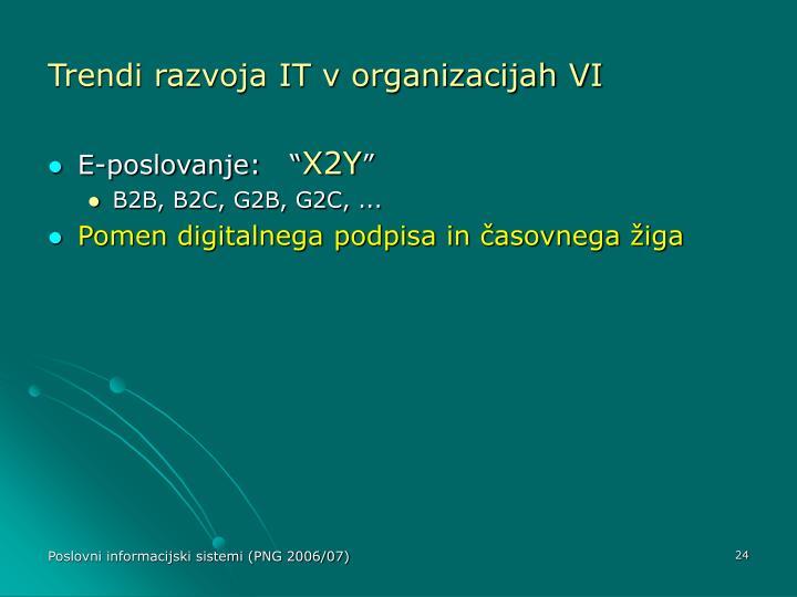 Trendi razvoja IT v organizacijah VI