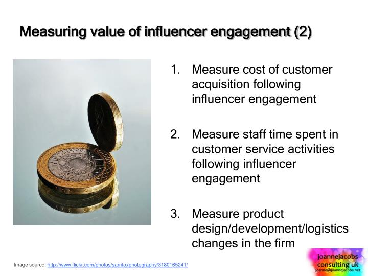 Measuring value of influencer engagement (2)