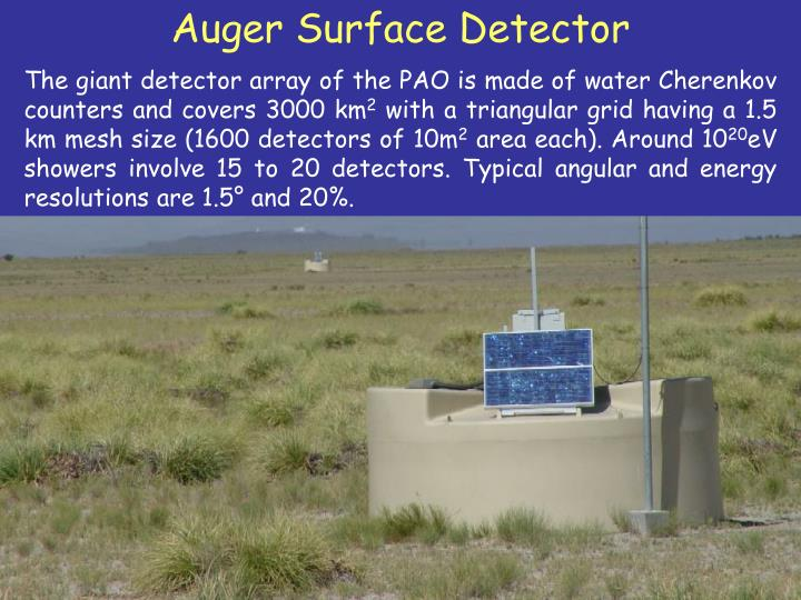 Auger Surface Detector