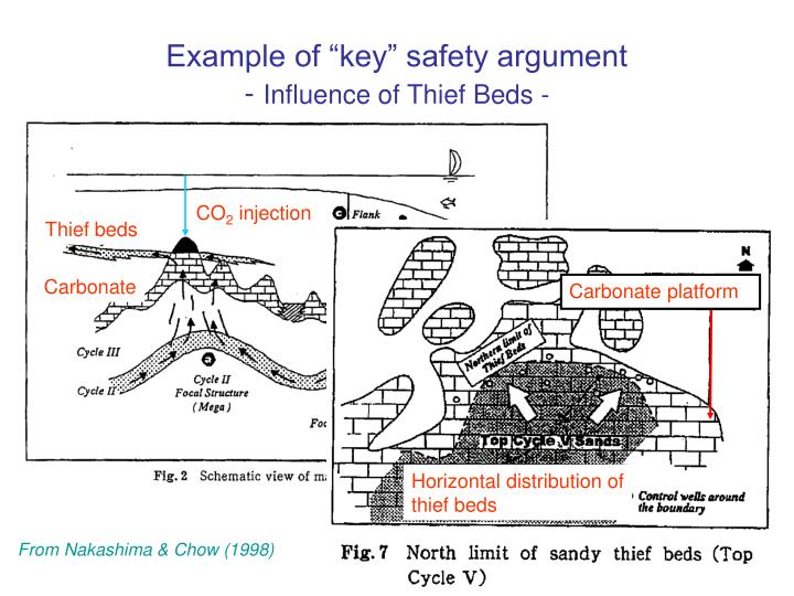 "Example of ""key"" safety argument"