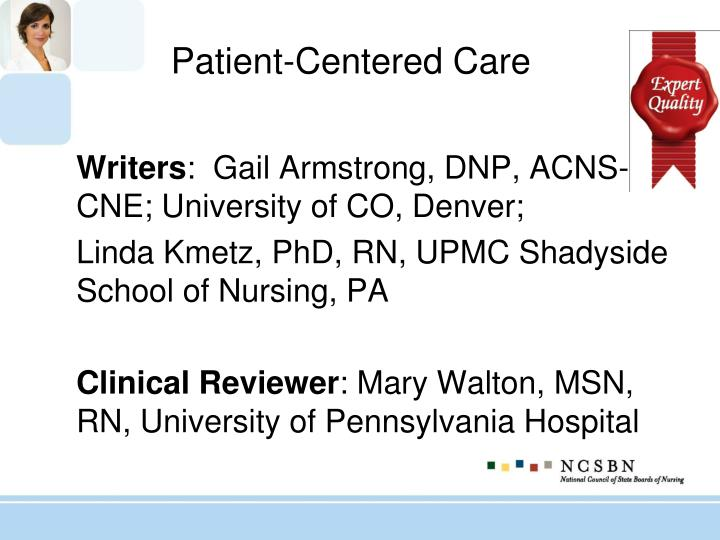 Patient-Centered Care