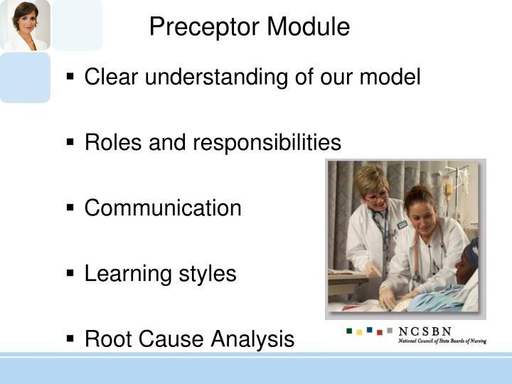 Preceptor Module