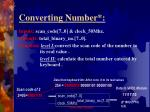 converting number