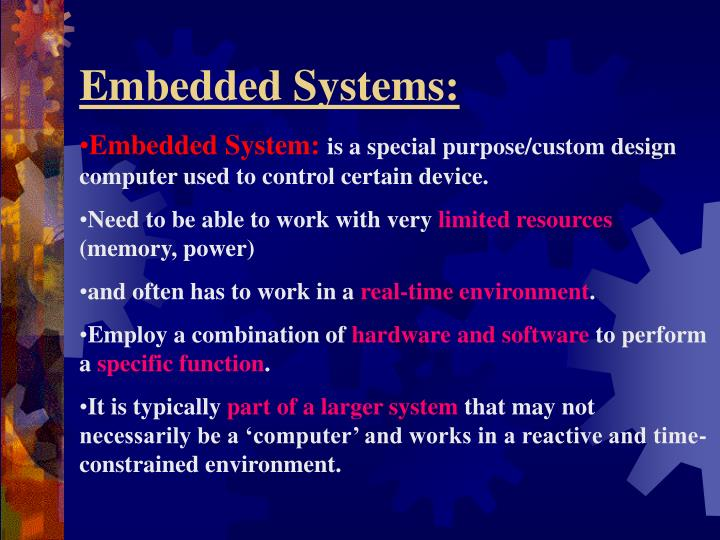 Embedded Systems: