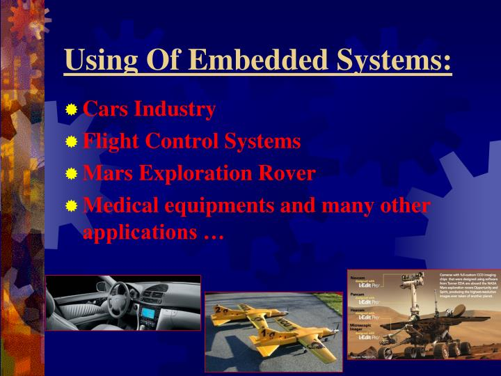 Using Of Embedded Systems: