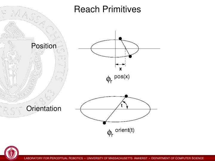 Reach Primitives