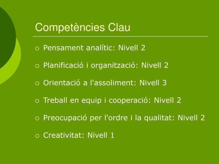 Competències Clau