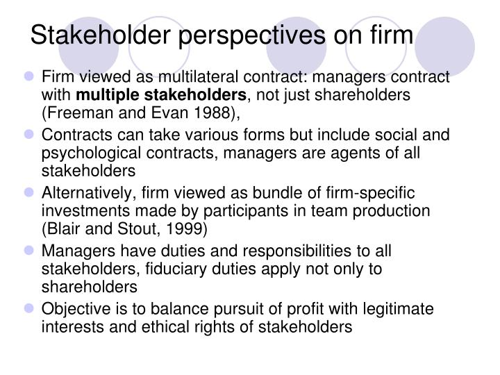 define friedman and freeman perspectives on corporate social responsibility Problem, the following definition is presented: corporate social responsibility is a business system that enables the production and distribution of wealth for the betterment of its stakeholders through the implementation and integration of.