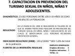 7 capacitacion en prevencion del turismo sexual en ni os ni as y adolescentes