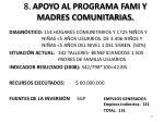 8 apoyo al programa fami y madres comunitarias