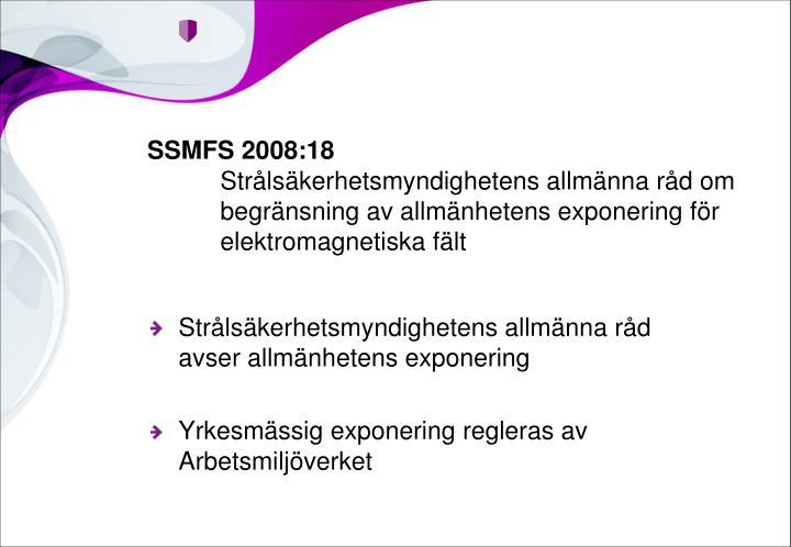 SSMFS 2008:18
