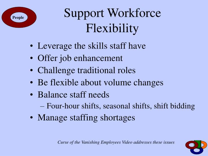 Support Workforce Flexibility