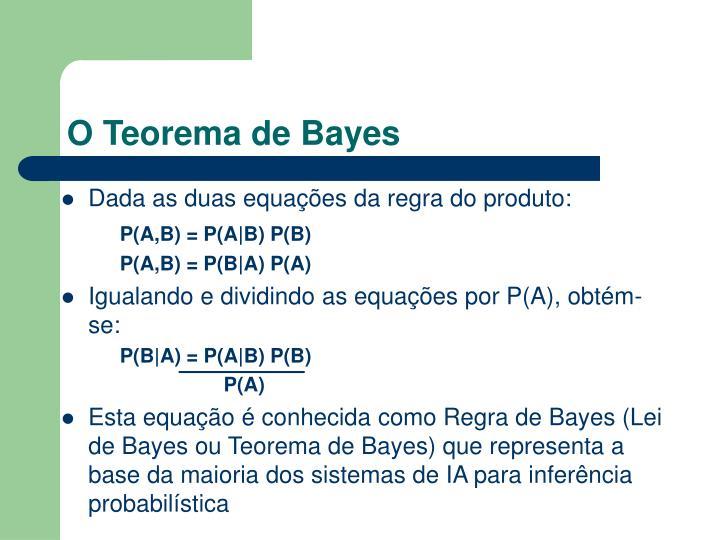 O Teorema de Bayes