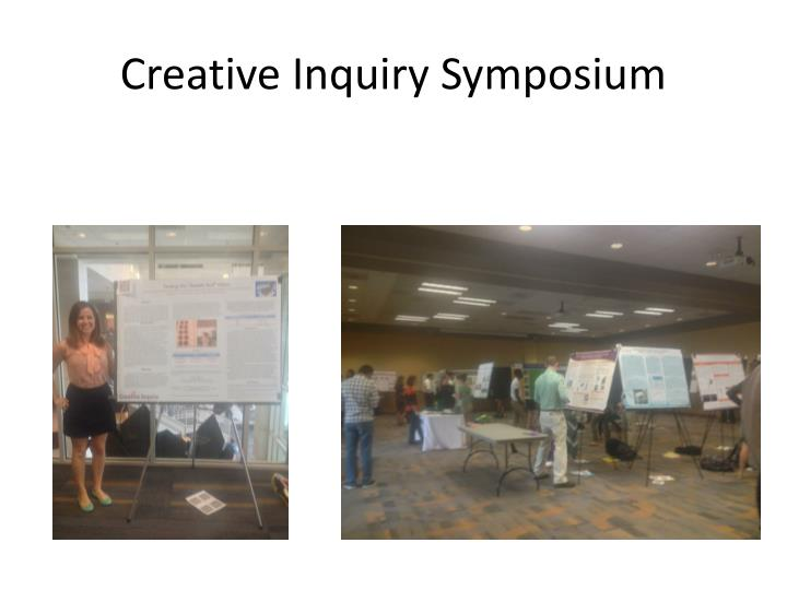 Creative Inquiry Symposium