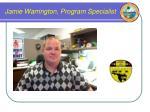 jamie warrington program specialist