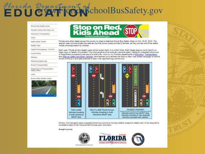 www.FloridaSchoolBusSafety.gov
