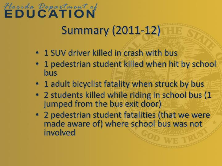 Summary (2011-12