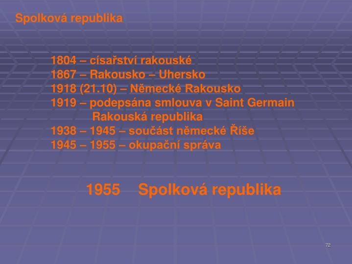 Spolková republika