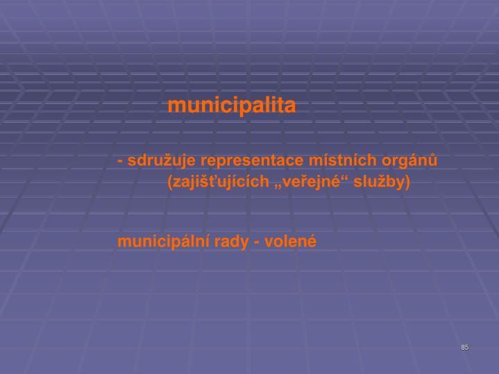 municipalita
