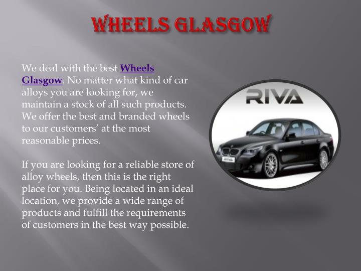 Wheels glasgow